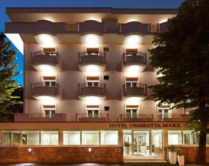 ESTERNO FRONTE Hotel Ombretta Mare - Gallery