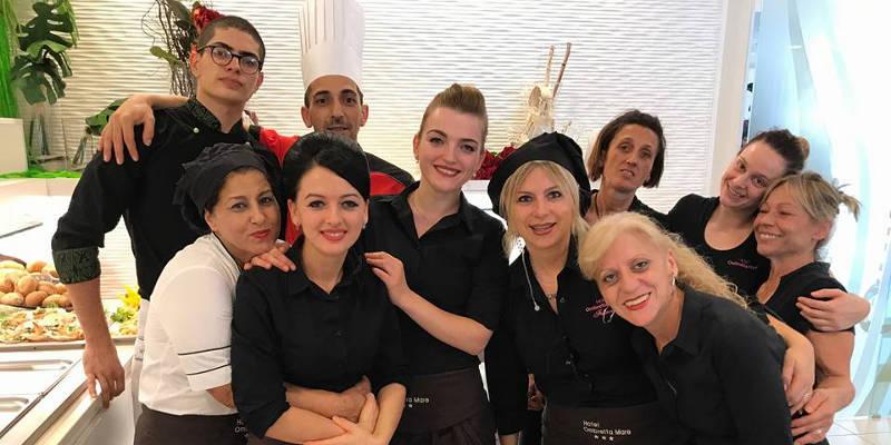Staff hotel Ombretta Mare Marinaie 3