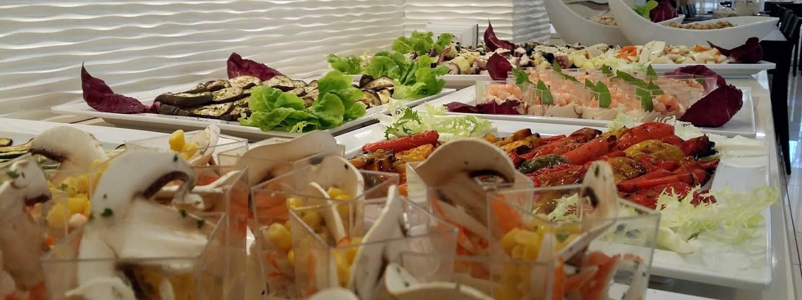 buffet hotel ombretta mare gamberetti 1