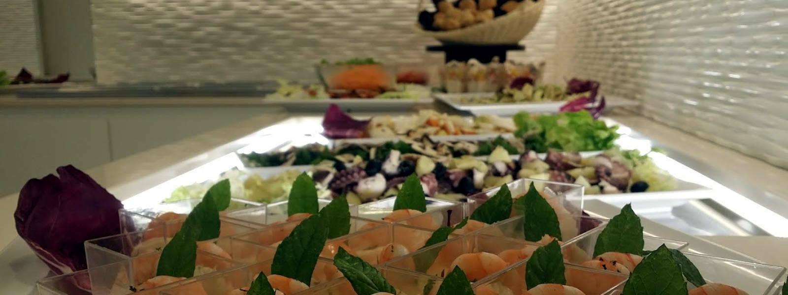 buffet hotel ombretta mare gamberetti 2