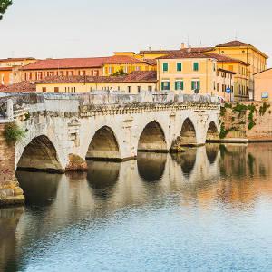 Ponte di Tiberio Rimini - Hotel Ombretta Mare